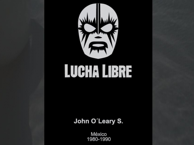 The Lucha Libre hot stamp design with the original Arial