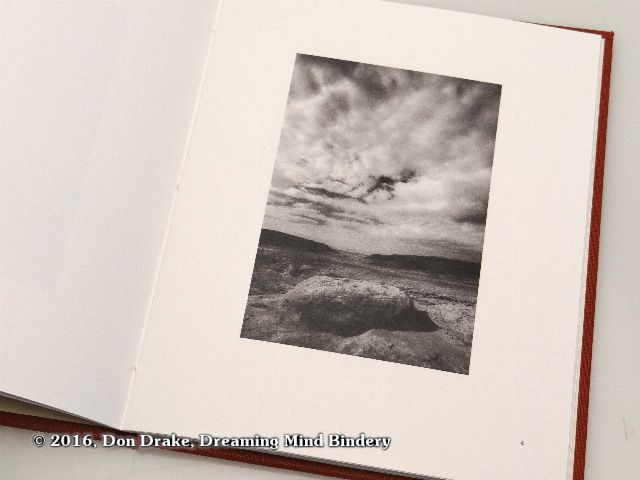 'Cliff Edge', image 4 in Kate Jordahl's and Don Drake's One Poem Book, Wild Geese