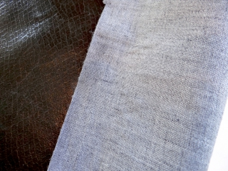 Non-traditional cloth to be used in a binding project
