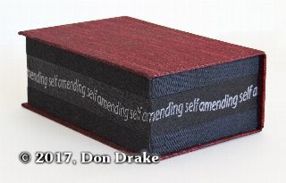 Don Drake's 'Amending Self' closed.