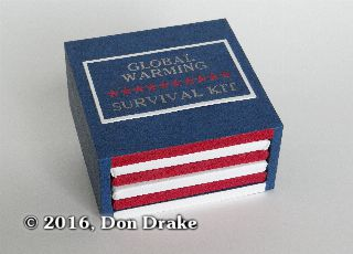 Don Drake's miniature book