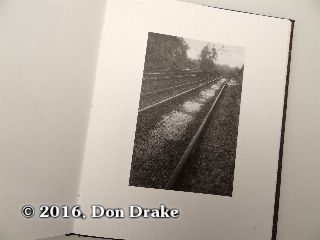 'Tracks', image 3 in Kate Jordahl's and Don Drake's One Poem Book, Elementary Geography