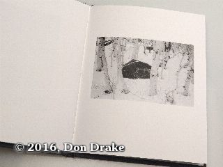 'Rock in Snow', image 8 in Kate Jordahl's and Don Drake's One Poem Book, Forecast